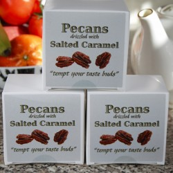 Toasted Pecans with Salted Caramel Drizzle (3 boxes)