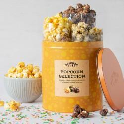 Gourmet Popcorn Selection Gifting Tin