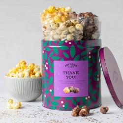 Thank You Gourmet Popcorn Gifting Tin