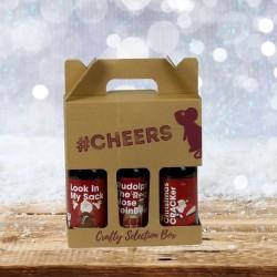 Christmas Comedy Themed Three Beer Gift Box (#1)