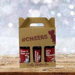 Christmas Comedy Themed Three Beer Gift Box (#2)