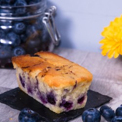 Vegan Blueberry and Vanilla Cakes (Gluten and sugar free) Set of 5