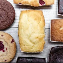 Vegan, Gluten, Sugar free Lemon Drizzle Cakes (Set of 5 cakes)