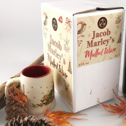 Jacob Marley's 5.5% Mulled Wine 3L Bag In Box