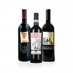 Organic Italian Red Wine Gift Selection