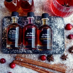 Winter Miniature gin gift set