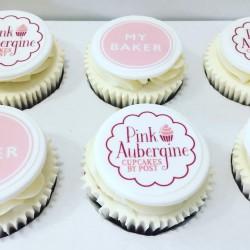 Bespoke Logo Cupcakes (Box of 6)