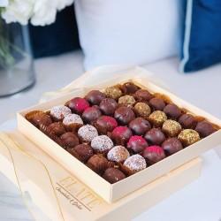 Handmade Date Truffles Gift Box