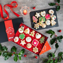 12 Days of Christmas Biscuit Box