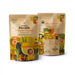 Panela Natural Sugar Alternative- Dried Sugar Cane Juice (Box of 2)