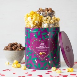Happy Mother's Day Gourmet Popcorn Gift Tin