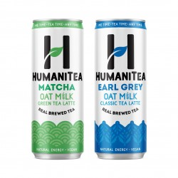 HumaniTea Taster Pack – 250ml x 6 cans