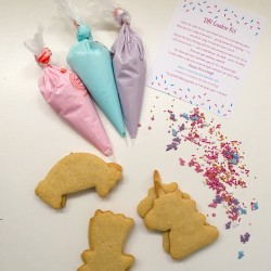 Fun at Home Unicorn Cookie Decorating Kit