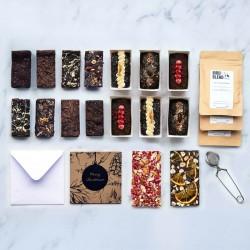 Luxury Christmas Chocolate Gift Set | Vegan, gluten free, dairy free, eggless