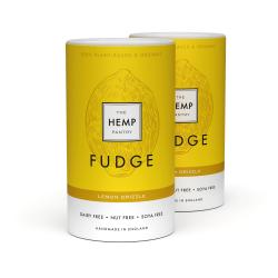 Vegan Organic Lemon Drizzle Fudge 175g (pack of 2)