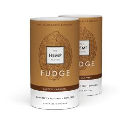 Vegan Organic Salted Caramel Fudge 175g (Pack of 2)