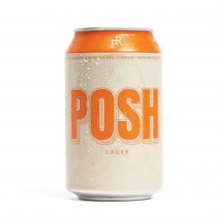 POSH Lager (4.1%) Craft Beer- 12 pack