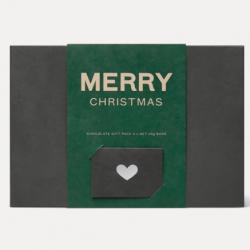 Merry Christmas Organic Chocolate Gift Box