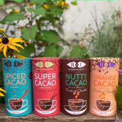 Luxury Organic Raw Cacao Drinking Chocolate Selection Box