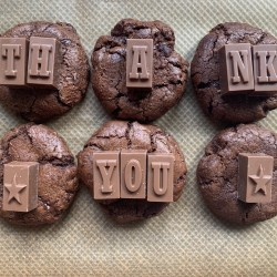 Thank You Box (Gluten Free) Double Chocolate Cookies