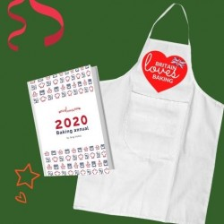Britain Loves Baking 2020 Bakers Annual & Apron Gift