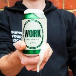 WORK I.P.A. (5.4%) Craft Beer- 24 pack
