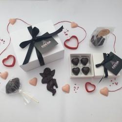 The Small Vegan Love Chocolate Gift Box Hamper