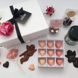 The Large Love Chocolate Gift Box Hamper