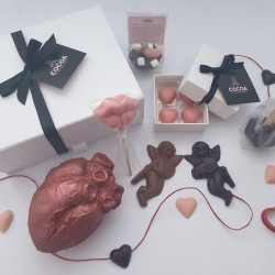 The Anatomical Heart Chocolate Gift Box Hamper