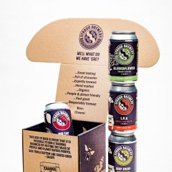 Organic Canned Beers (Box of 4)