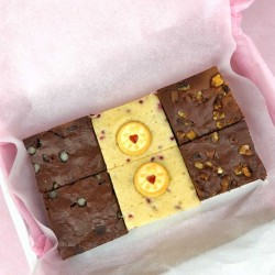Deluxe Brownie Trio