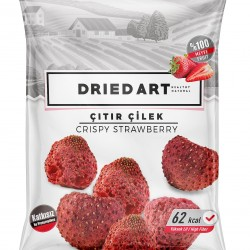 Gluten Free Dried Art Crispy Dried Strawberry (10 packs)