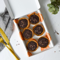 Millionaires Tarts | Vegan & Refined Sugar Free (Box of 6)