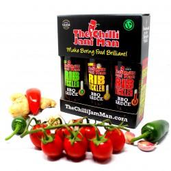 The 'Smoky Box' Chilli Sauce Gift Set