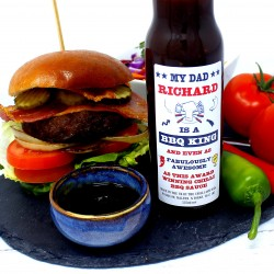 'BBQ King / Queen' Personalised Chilli Sauce