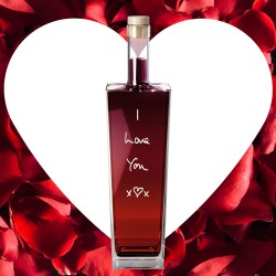 Valentine's Personalised Liqueur Bottle (Choice of Flavour)
