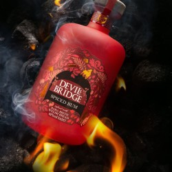 Devil's Bridge Spiced Rum Infused With Bara Brith