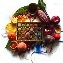 Nono Cocoa - 24 Rainbow - Vegan Superfood Chocolate Box