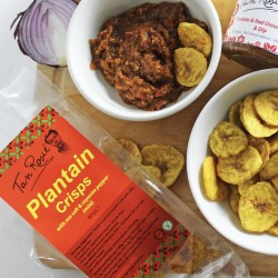 Plantain Crisps | Sea Salt & Cayenne Pepper (3 Packs)