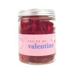You're My Valentine | Jar of Cherry Lip Sweets