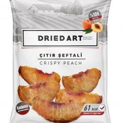 Gluten Free Dried Art Crispy Dried Peach (10 packs)