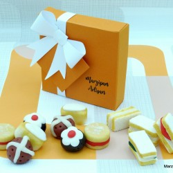 Artisan Marzipan Afternoon Tea Selection Box