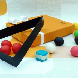 Marzipan Snooker Ball Set Foodie Gift for Him