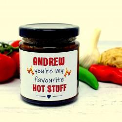 'Hot Stuff' Personalised Chilli Jam