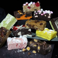 Bespoke Selection Artisan Butter Fudge Box (4 Bars)