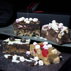 Fudge Overload Artisan Butter Fudge Box (4 Fudge Bars)