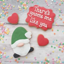 Valentine's Cookie Set - There's Gnome One Like You