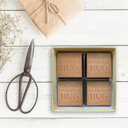 Chocolate Socially Distanced Hugs