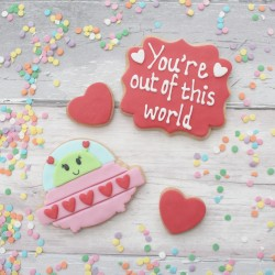 Valentine's Cookies- You're Out of this World