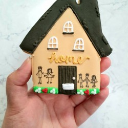 Home Sweet Home Large Biscuit New Home Gift